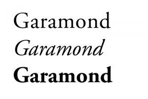 Garamonf autoedición