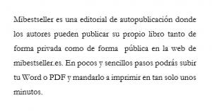 Mibestseller una editorial de autopublicacion para publicar su libro
